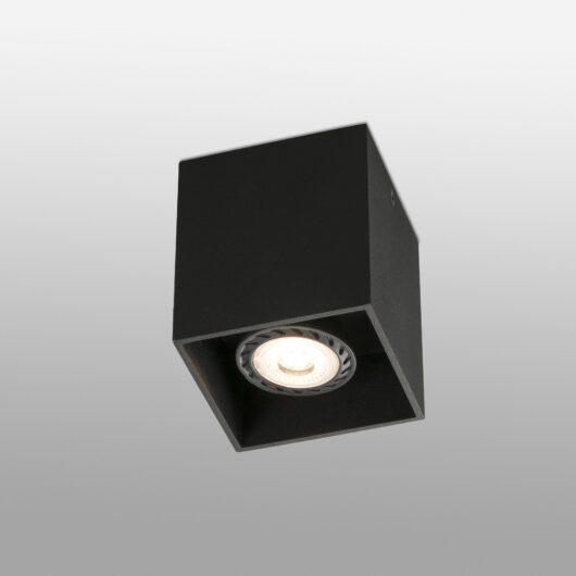 Tecto Negru plafoniera 1 X GU10 50W 1