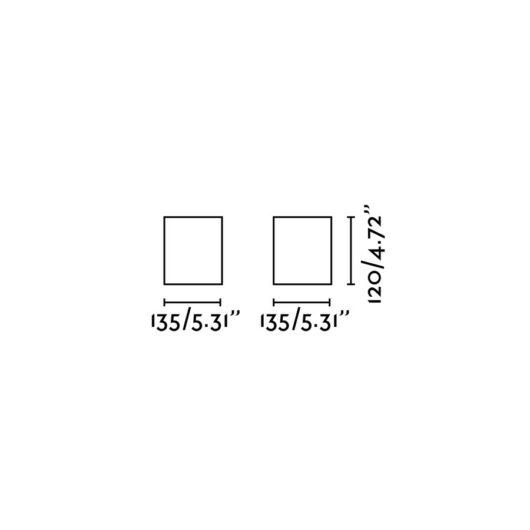 Tecto Negru plafoniera 1 X Ar111 50W 2