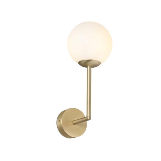 Gala Lampa de perete Satin Gold 1Xg9 1