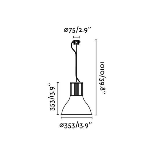 Transfer Gri candelabru 3 X E27 60W 2