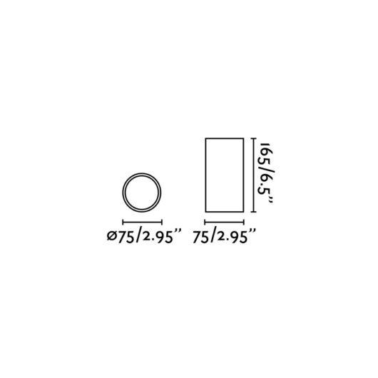 Rel Negru plafoniera Led 15W 60° 2700K 2