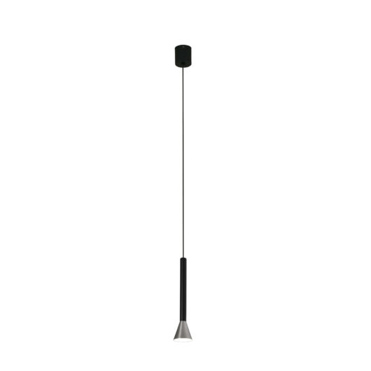 Danka Matt Nickel Pendant Led 6W 3000K 1