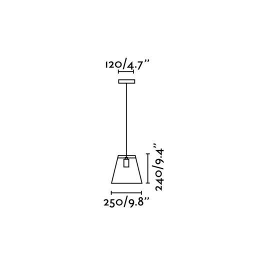 Rose-1 Negru candelabru 1 X E27 40W 2