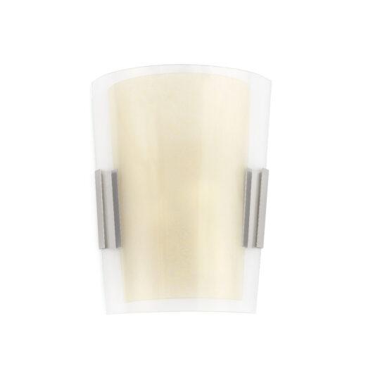 Twin-3 Matt Nickel Lampa de perete 2 X E14 60W 1