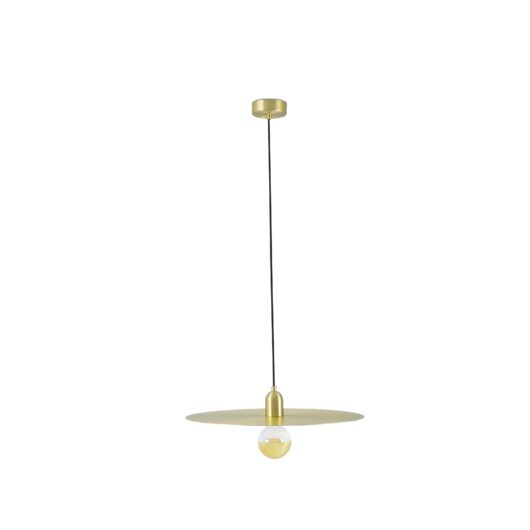 Plat Satin Gold Lampa de perete 1