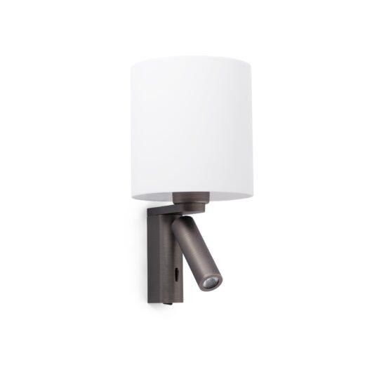 Rob Bronze Lampa de perete With Led Reader 1