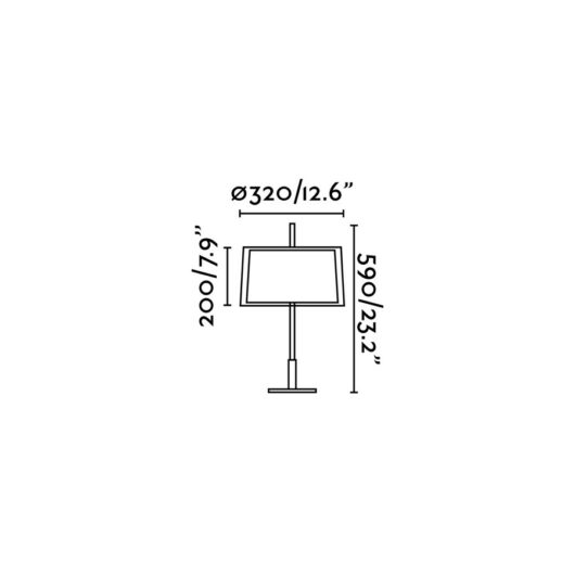 Saba Nickel Matt veioza 1 X E27 40W H60 2
