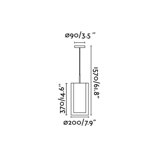 Saba Nickel Matt Pendant 1 X E27 40W 2