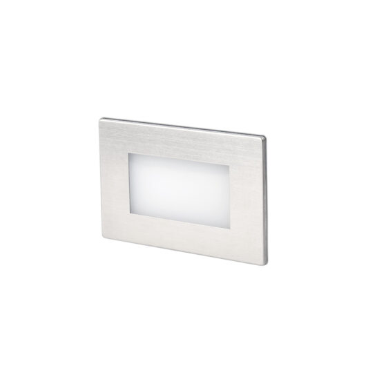Gron Led Matt Nickel Recessed Lamp 1