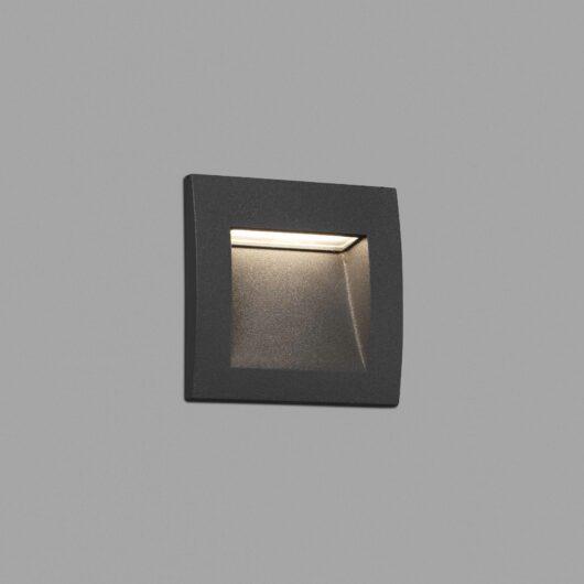 Sedna-1 Dark Gri Recessed Lamp Led 1W 3000K 1