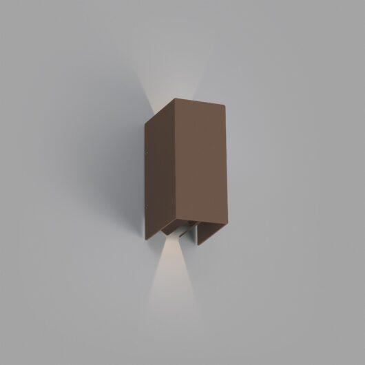 Blind Rust maro Lampa de perete Led 6W 3000K 1