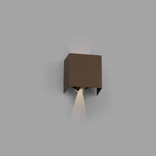 Olan Led Rust maro Lampa de perete Led 6W 3000K 1