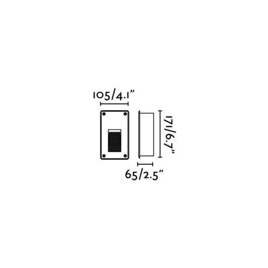 Filter Gri Recessed20Led 0,08W/Led 75 Xm 5750-600 2