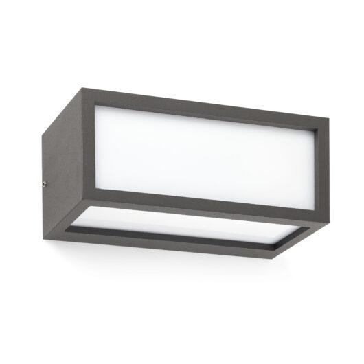Tejo Lampa de perete Dark Gri 1 X E27 20W 1
