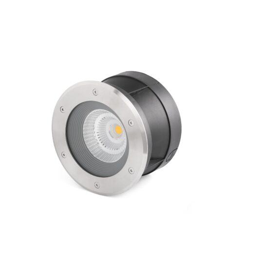 Suria-24 Led Inox Recessed Lamp 24° 1