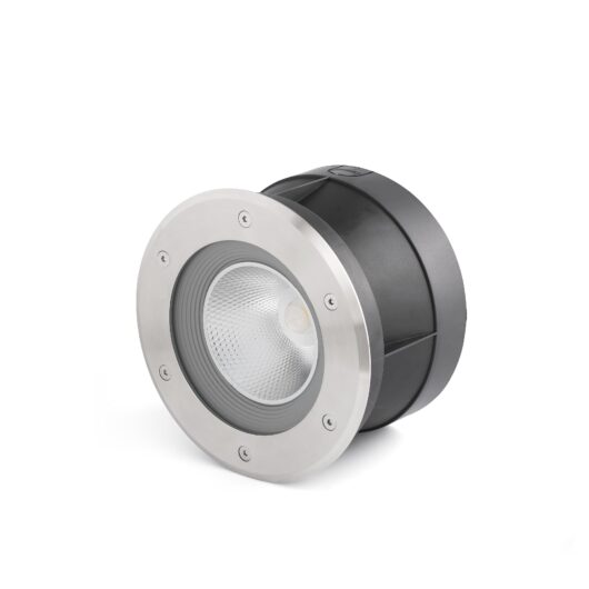 Suria-24 Led Inox Recessed Lamp 60° 1