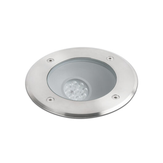 Salt Led Asymmetric Inox Recessed Lamp  Led 9W 1