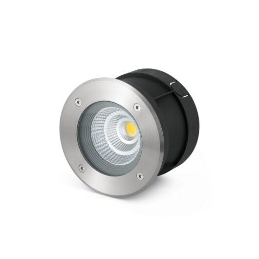 Suria-12 Led Inox Recessed Lamp 60°  Led 12W 30 1