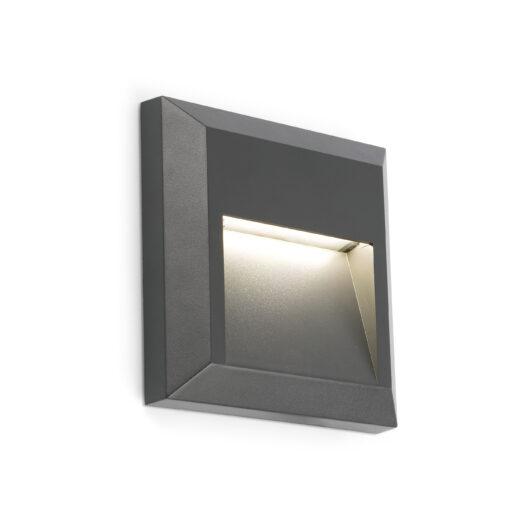 Grant-C Dark Gri Lampa de perete Led 3000K 1