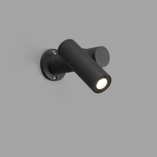 Spy-1 Post Lamp Dark Gri 6W H140 1