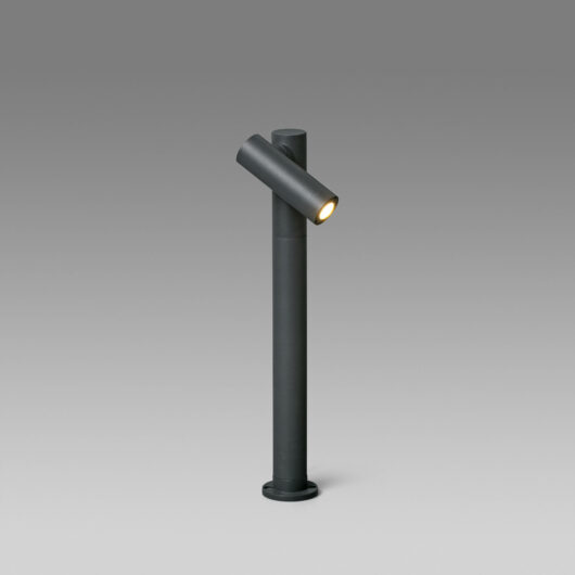 Spy-2 Pole Lamp Dark Gri Led 6W H430 1