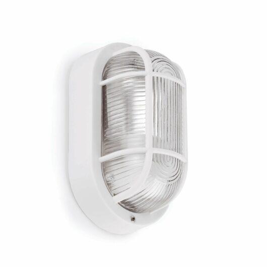 Ovalo-B Alb Lampa de perete Closed 18 1 X E27 60W 1