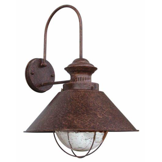 Nautica-P Rust Lampa de perete 1 X E27 12W 1