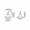 Newport Rosu Lampa de perete 1 X E27 60W 3