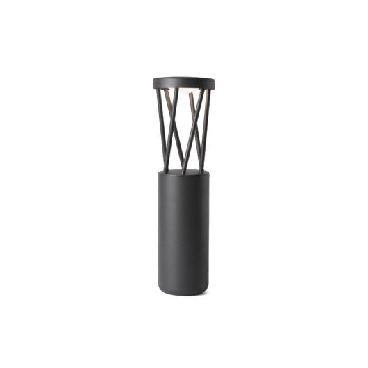 Twist Led Dark Gri Pole Lamp 10W 3000K 1