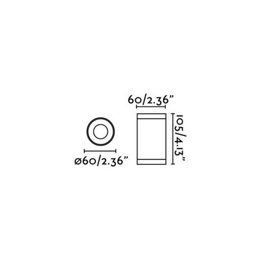 Olot Alb plafoniera 1XGU10 Max 35W 2
