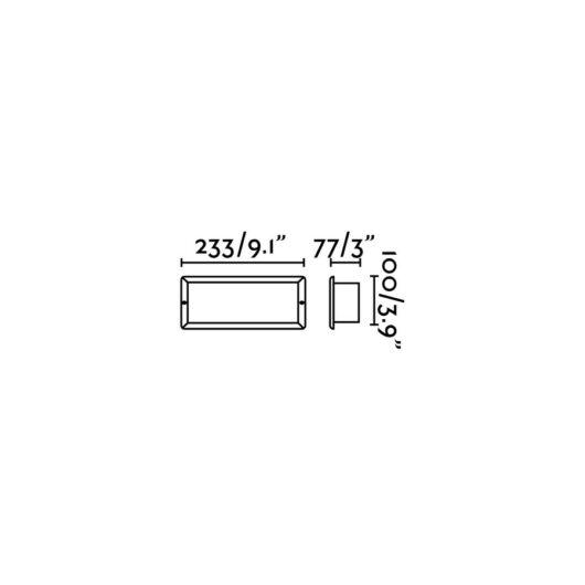 Liso Alb Recessed 1 X E27 40W 1