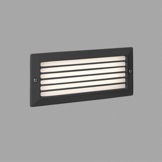 Stripe-1 Recessed Dark Gri 5W 3000K 1