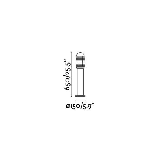 Verno-M Negru Beacon 1 X E27 60W 2