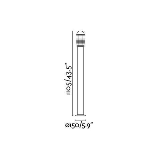 Verno-G Negru Beacon 1 X E27 60W 2