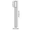 Cross-1 Dark Gri Pole Lamp 1Xpl 2G11 55W 5000K 3