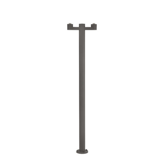 Structure Pole Lamp Muffin/Blub´S Dark Gri 2 X E2 1