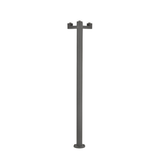 Structure Pole Lamp Muffin/Blub´S Dark Gri 3 X E2 1