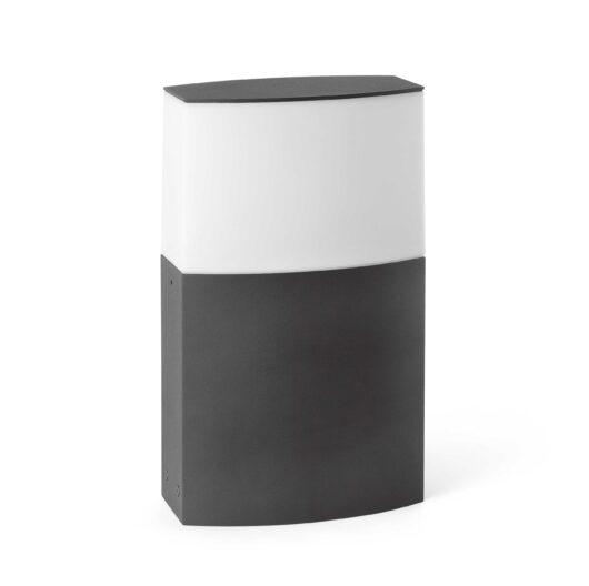 Datna Dark Gri Post Lamp 1 X E27 20W H29 1