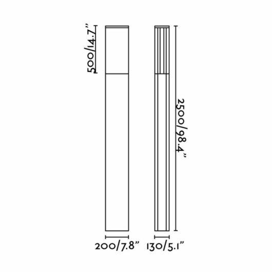 Datna Pole Lamp Pl 55W H2.50 Mts 2