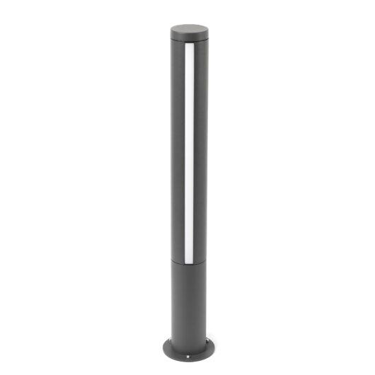 Grop-1 Led Dark Gri Beacon Lamp H75Cm 1
