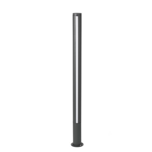 Grop-2 Led Dark Gri Beacon Lamp H125Cm 1