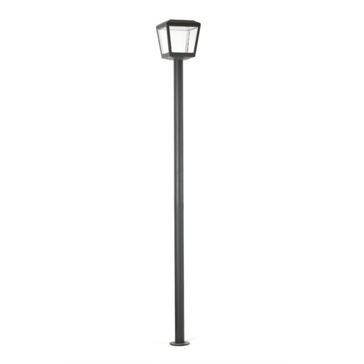 Plaza Pole Lamp Dark Gri Led 18W 3000K 1