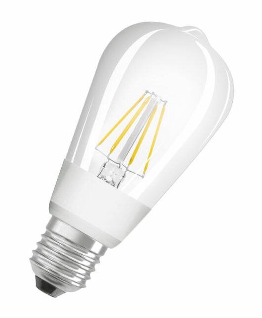 Bec Edison E27 230V Glowdim 2700K/2000K Dimabil 7W 1