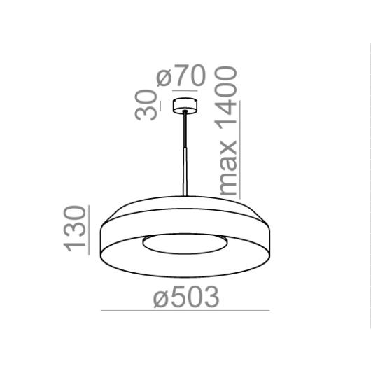Maxi Ring Dot Suspendat 2
